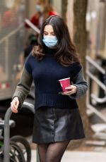 SELENA GOMEZ Arrives on the Set of Only Murders in the Building in New York 04/10/2021
