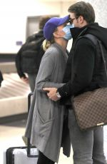 SHANNA MOAKLER and Matthew Rondeau at LAX Airport 04/24/2021