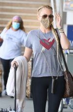 SHANNA MOAKLER at LAX Airport in Los Angeles 04/09/2021