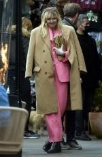 SIENNA MILLER, ALICE DELLAL, JO WOOD and MARY CHARTERIS at Fran Cutlers Birthday Lunch in Notting Hill 04/15/2021