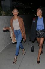 SKAI JACKSON and LEXI UNDERWOOD Night Out in Beverly Hills 04/23/2021