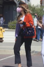 SOFIA RICHIE Out Shopping with Friends in Malibu 04/10/2021