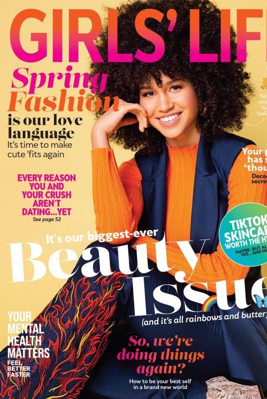 SOFIA WYLIE in Girls' Life Magazine, April/May 2021