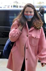 SOPHIE ELLIS-BEXTOR Arrives on the Set of Name that Tune in Manchester 04/07/2021