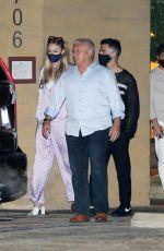 SOPHIE TURNER and Joe Jonas at Nobu in Malibu 04/20/2021