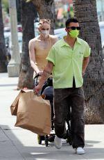 SOPHIE TURNER andJoe Jonas Out in Los Angeles 04/25/2021