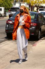 STELLA MAXWELL at Blue Bottle Coffee in Los Feliz 04/10/2021