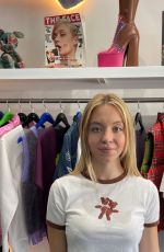 SYDNEY SWEENEY at Launch of Marc Jacobs