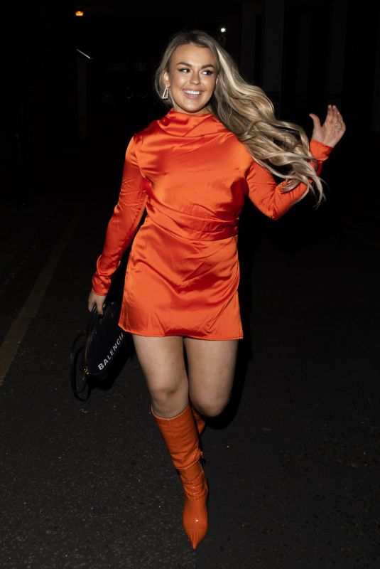 TALLIA STORM Night Out in London 04/14/2021