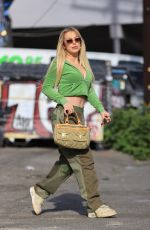 TANA MOGEAU Out Shopping in West Hollywood 04/11/2021