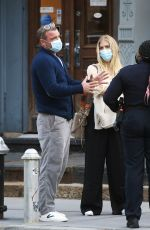 TAYLOR NEISEN and Liev Schreiber Out in New York 04/13/2021