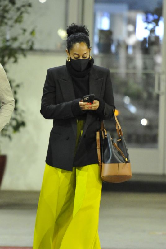 TRACEE ELLIS ROSS at E Baldi in Beverly Hills 04/24/2021