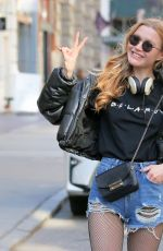VALENTINA BELI Out and About in New York 04/06/2021