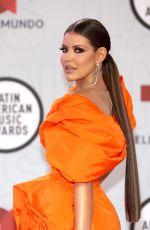 VANESSA CLAUDIO at 2021 Latin American Music Awards in Sunrise 04/15/2021