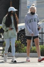 VANESSA HUDGENS Leaves a Morning Workout Session in Los Angeles 04/05/2021