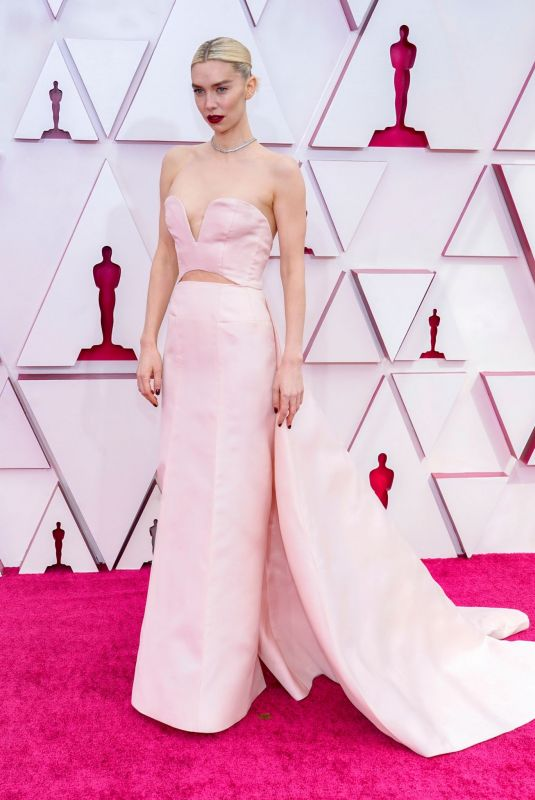 VANESSA KIRBY at 93rd Annual Academy Awards in Los Angeles 04/25/2021