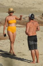 VANESSA MINNILLO in Swimsuit at a Beach in Cabo San Lucas 04/06/2021