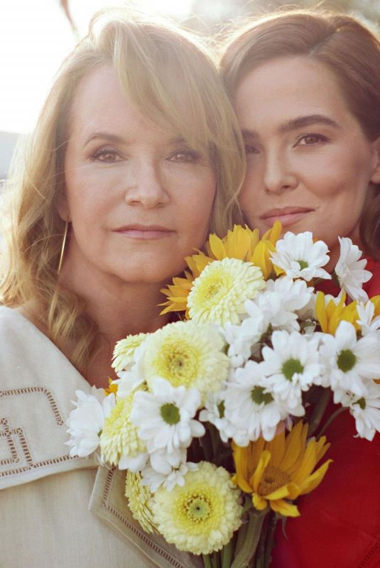 ZOEY DEUTCH and LEA THOMPSON for Instyle Magazine, April 2021