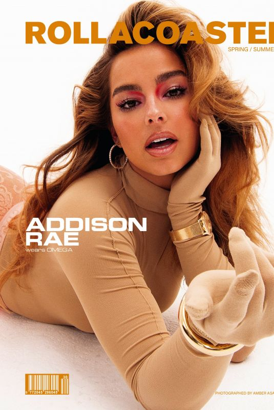 ADDISON RAE for Rollacoaster Magazine, Spring/Summer 2021