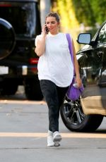 ADDISON RAE Leaves Pilates Class in West Hollywood 05/28/2021