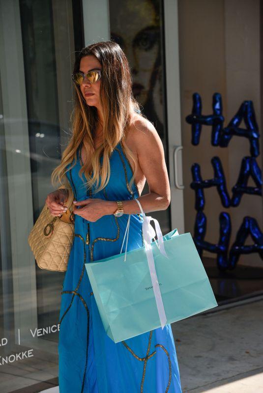 ADRIANA DE MOURA Shopping in Luxury Stores in Miami's Design District 04/30/2021