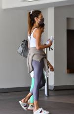 ALESSANDRA AMBROSIO Arrives at Her Pilates Class in Brentwood 05/17/2021