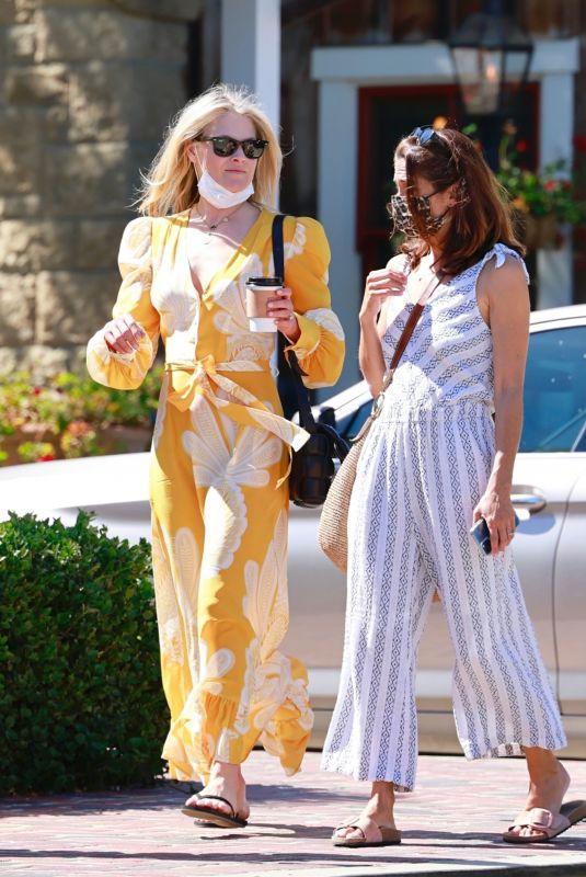 ALI LARTER Out with a Friend in Santa Barbara 05/01/2021