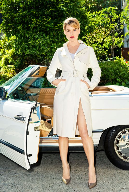 ALICE EVE for Marie Claire Magazine, July 2013