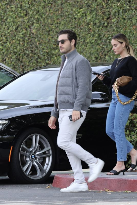 AMANDA STANTON and Michael Fogel Out in Newport Beach 05/03/2021