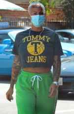 AMBER ROSE and Alexander Edwards Out in Beverly Hills 05/07/2021