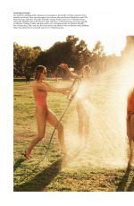 AMBER VALLETTA, SHALOM HARLOW and CAROLYN MURPHY in WSJ Magazine, May 2021