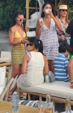 AMBRA GUTIERREZ and Accuser of Allegations Against Harvey Weinstein at Joia Beach in Miami 05/16/2021