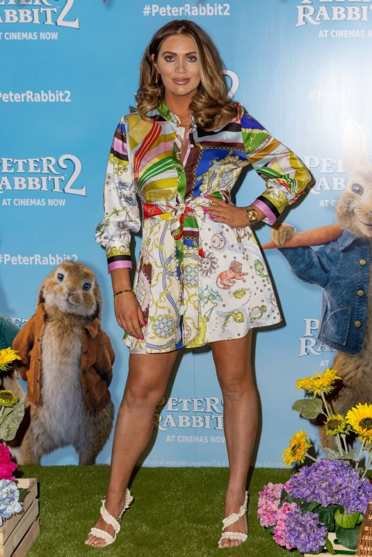 AMY CHILDS at Peter Rabbit 2: The Runaway Screening in London 05/23/2021