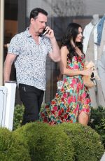AMY MAY Out for a Date in Pacific Palisades 05/28/2021