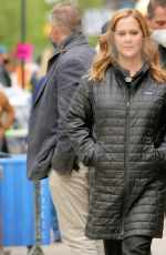 AMY SCHUMER Arrives on the Set of Life & Beth in New York 05/07/2021