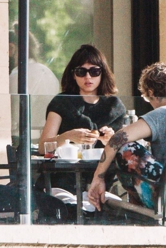 ANA DE ARMAS Having Breakfast in Mallorca 05/15/2021