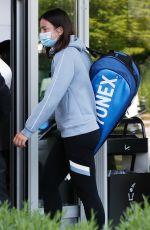 ANASTASIJA SEVASTOVA Arrives at Her Hotel After Training at Roland Garros 05/29/2021