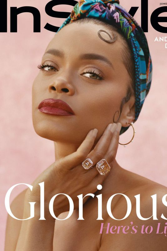 ANDRA DAY in Instyle Magazine, June 2021