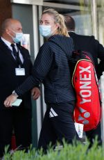 ANGELIQUE KERBER Arrives at Her Hotel After Training at Roland Garros 05/29/2021