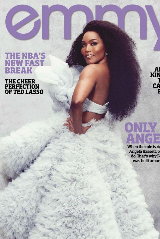 ANGELLA BASETT in Emmy Magazine, January 2021