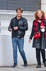 ANNA ERMAKOVA Out with Her Boyfriend in London 05/14/2021