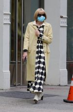 ANNA WINTOUR Out and About in New York 05/24/2021