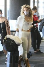 ANNALYNNE MCCORD at LAX Airport in Los Angeles 05/03/2021