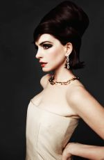 ANNE HATHAWAY in CR Fashion Book, China May 2021