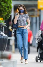 ANNE HATHAWAY Out and About in New York 05/17/2021