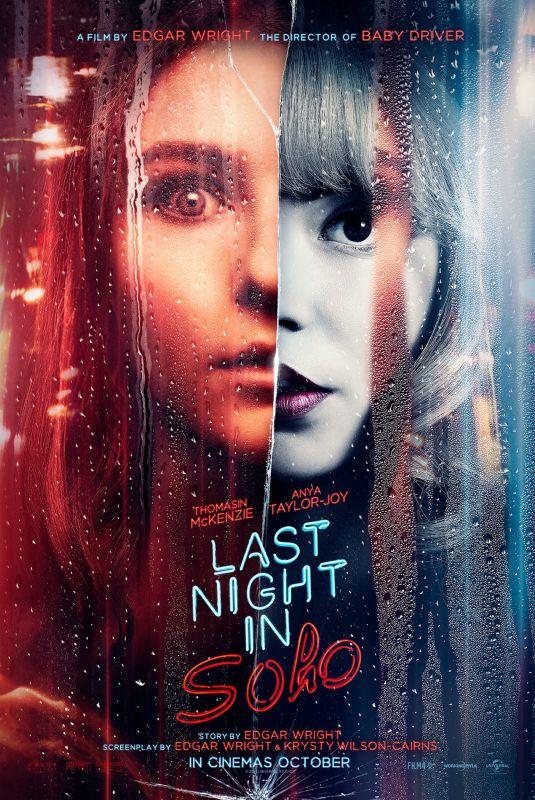 ANYA TAYLOR-JOY and THOMASIN MCKENZIE - Last Night in Soho Poster, 2021