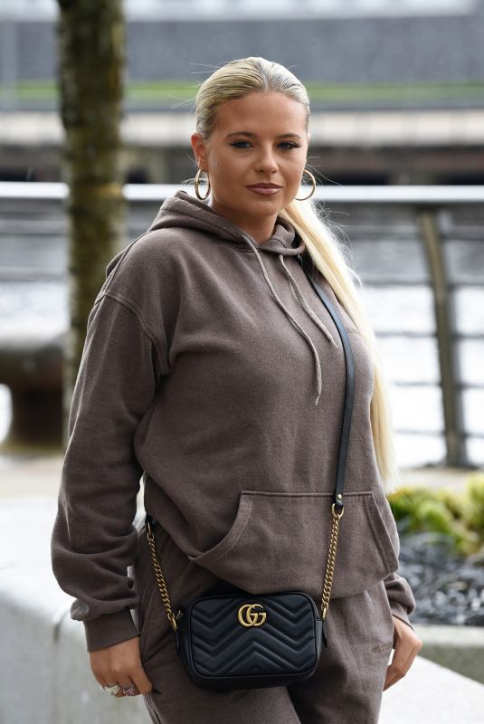 APOLLONIA LLERELLYN Out at Media City in Salford 05/01/2021