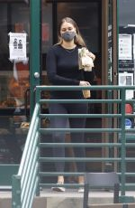 APRIL LOVE GEARY Out for Coffee at Starbucks 05/17/2021