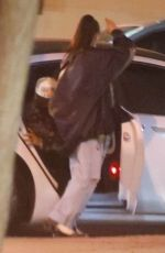 ARIANA GRANDE Out with Friends in Los Angeles 05/07/2021