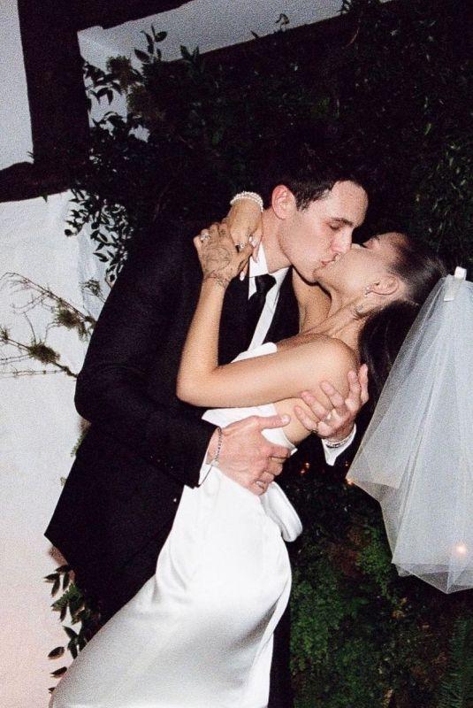 ARIANA GRANDE – Stefan Kohli's Wedding Day Photos, May 2021